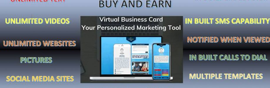 Virtual Business Card Cover Image