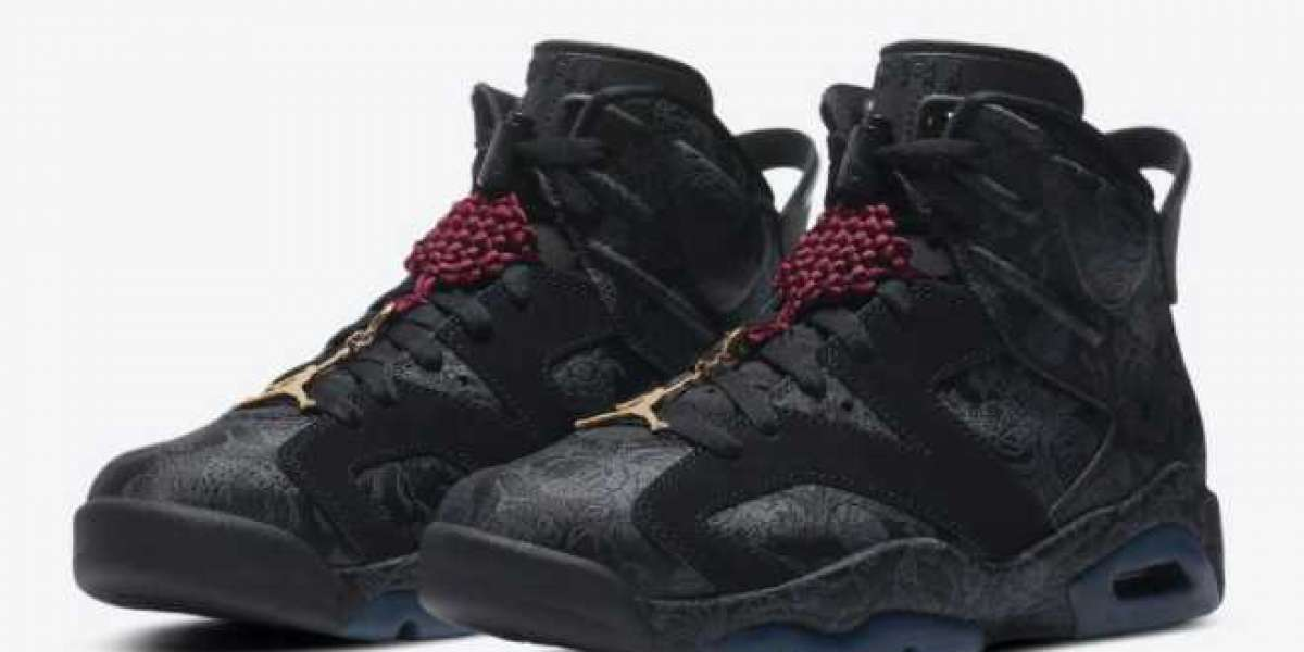 A shoe with Chinese characteristics Air Jordan 6 embroidered Chinese knot