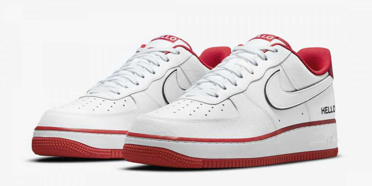 """Nike Air Force 1 Low """"Hello"""" 2021 New Arrival CZ0327-100"""