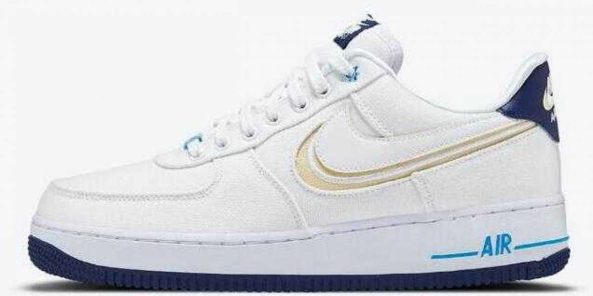New Release DB3541-100 Nike Air Force 1 Low White Canvas On Sale